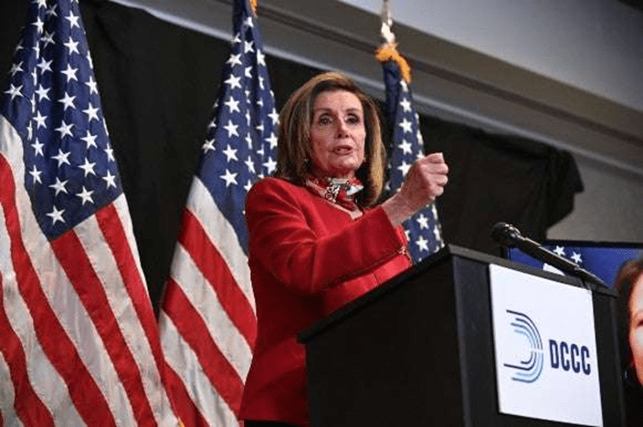 PELOSI MOVES TO KEEP SPEAKERSHIP