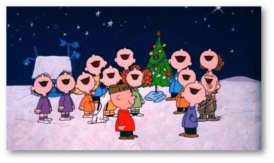 CHARLIE BROWN CHRISTMAS IS SAVED