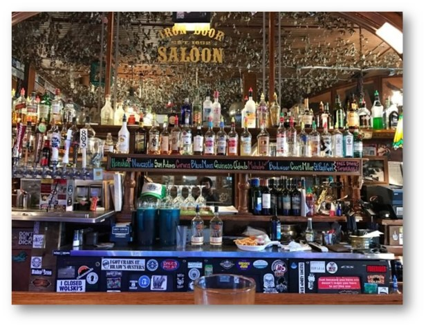 THE OLDEST BAR IN THE NORTHERN STATE