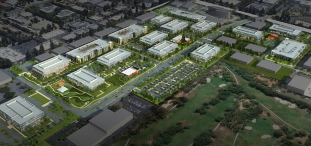 APPLE LEASES MASSIVE COMPLEX IN SUNNYVALE