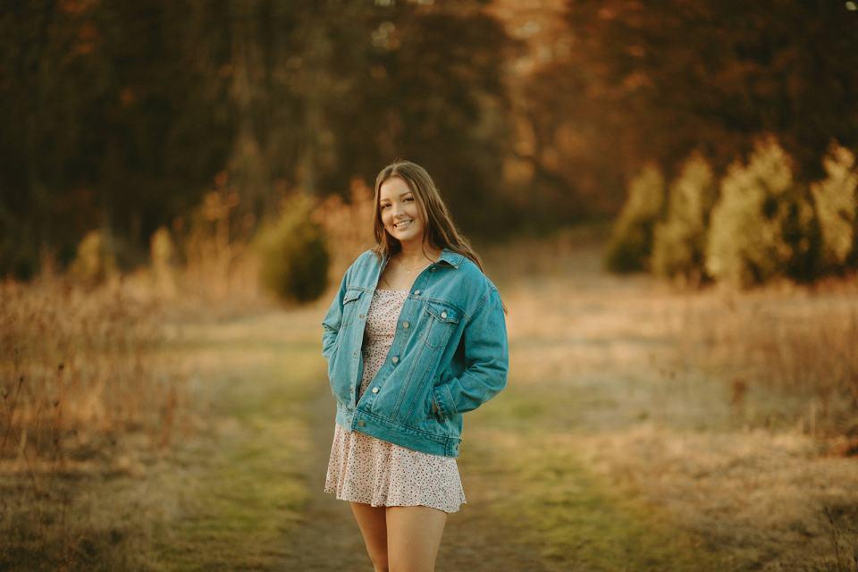 fall senior photos