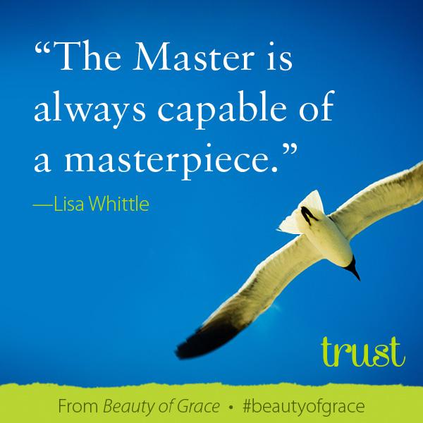 Lisa Whittle The Beauty of Grace #beautyofgrace