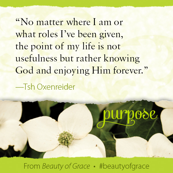 Tsh Oxenreider The Beauty of Grace #beautyofgrace