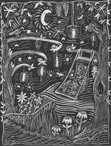 Scratchboard Fairy Party