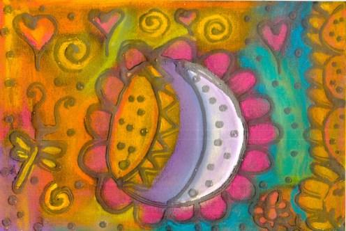 Cosmic Space Flower