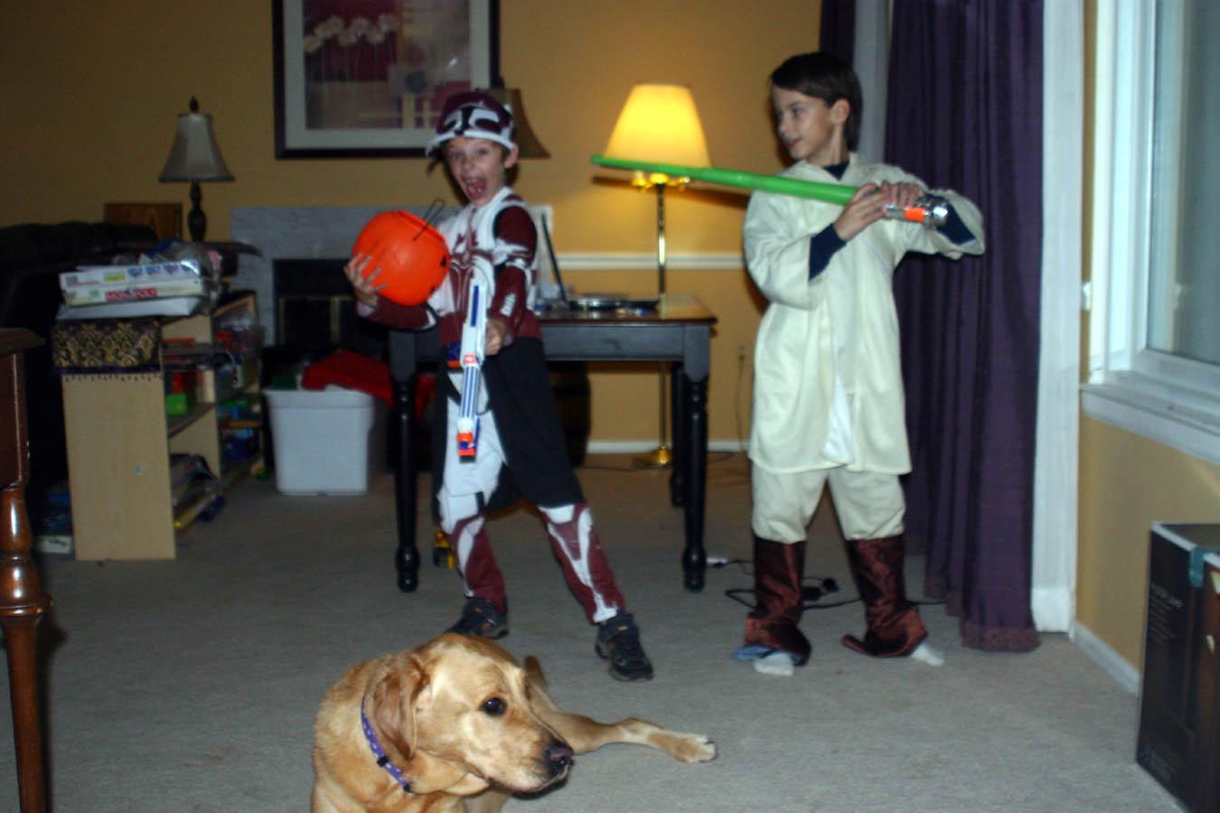 Clone Luke and Jabba