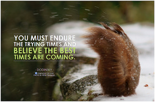 Dodinsky You must endure the trying times and ...