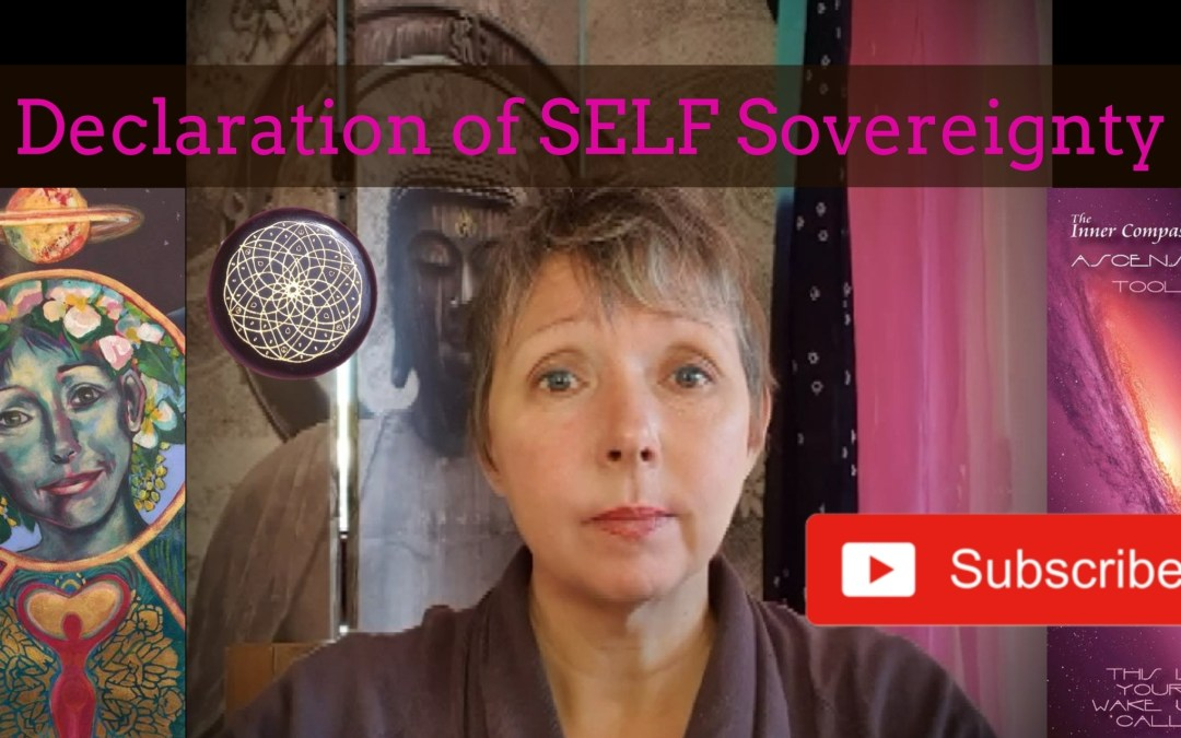 Letter to the PM: Declaration of SELF Sovereignty