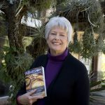 Dawn with her first published book