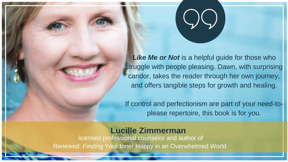 Lucille ZImmerman | Like Me Or Not Book Endorsement