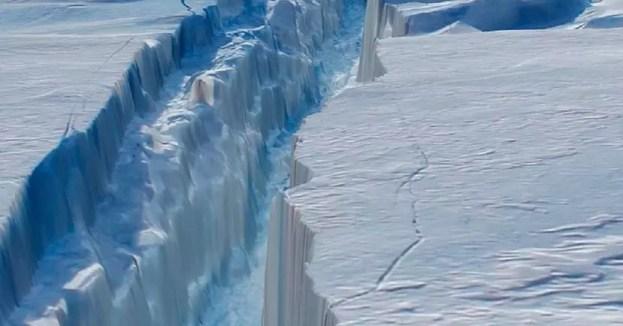 desprendimiento de hielo