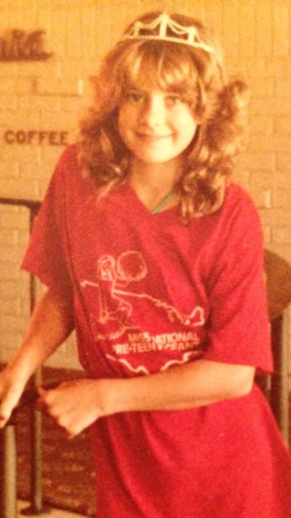 Miss Kansas PreTeen 1984