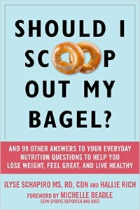 Scoop out my bagel