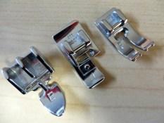 Additional sewing machine feet