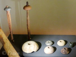 Drop spindle whorls