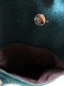 interior pocket of the bag