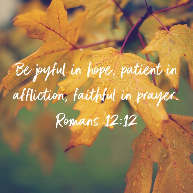 Patience and Acceptance