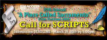 Place Called Sacramento Script Deadline: March
