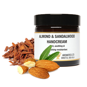 Almond & sandalwood hand cream