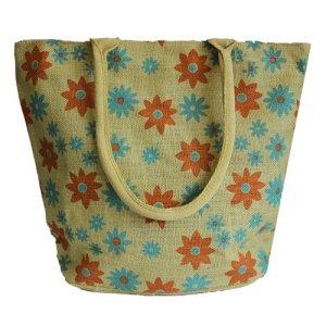 Jute Super-Shopper Bag