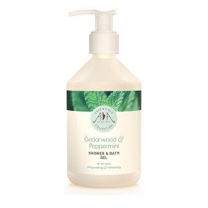 AA Skincare - Cedarwood & Peppermint Shower & Bath Gel 500ml
