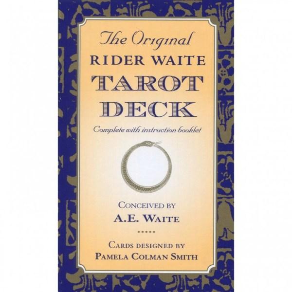 The Original Rider Waite Tarot Deck Cards – 10 Jun 1999 by A.E. Waite (Author),