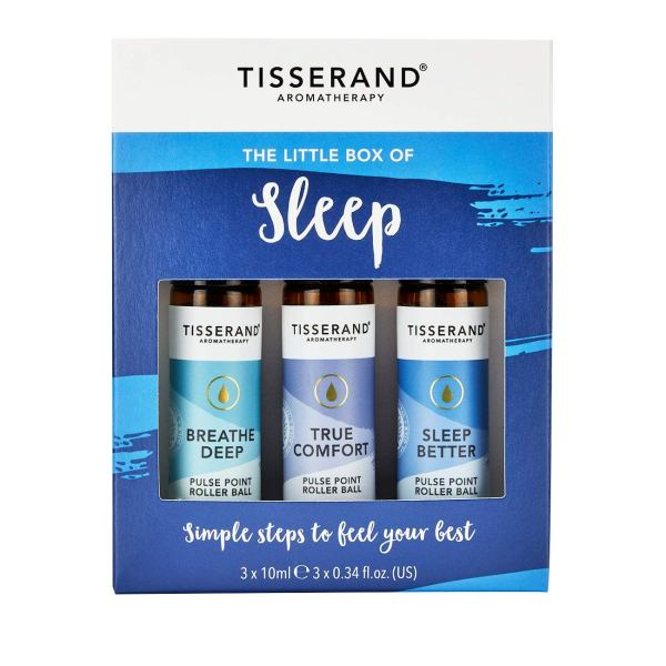 Tisserand The Little Box of Sleep Rollerball Kit by Tisserand Aromatherapy