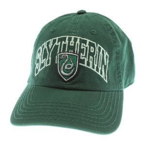 Harry Potter Snapback Hat House Slytherin Crest Adjustable Cap