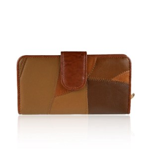 Real Leather Brown Purse