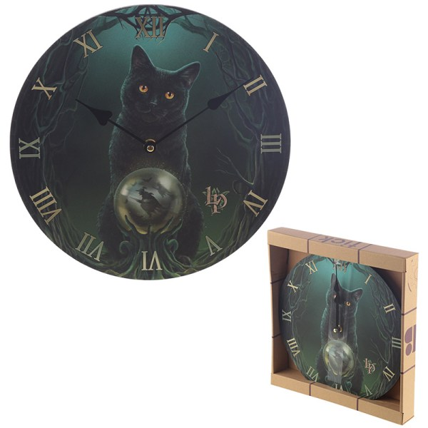 Decorative Rise of the Witches Lisa Parker Wall Clock