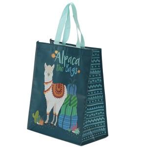 Alpaca the Bags Design Reusable Shopping Bag