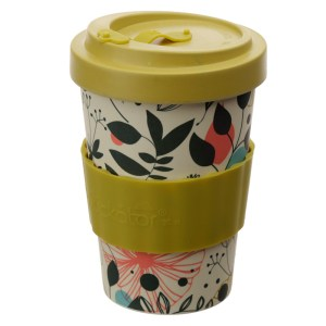 Bamboo Composite Wisewood Botanical Screw Top Travel Mug