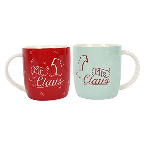 Mr & Mrs Claus Mugs
