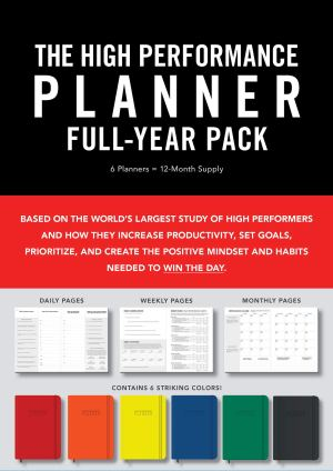 High Performance Planner Full-Year Pack: 6 Planners = 12-Month Supply Diary – 8 Jan. 2019 by Brendon Burchard (Author)