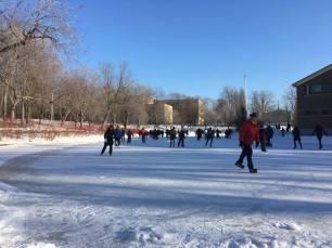 parc la fontaine ice rink 2