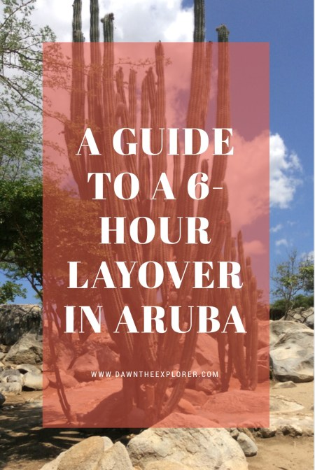 Stucked in the airport of Aruba due to long layovers? Take a chance and venture outside the island. Here's a complete Aruba layover guide to help you out.
