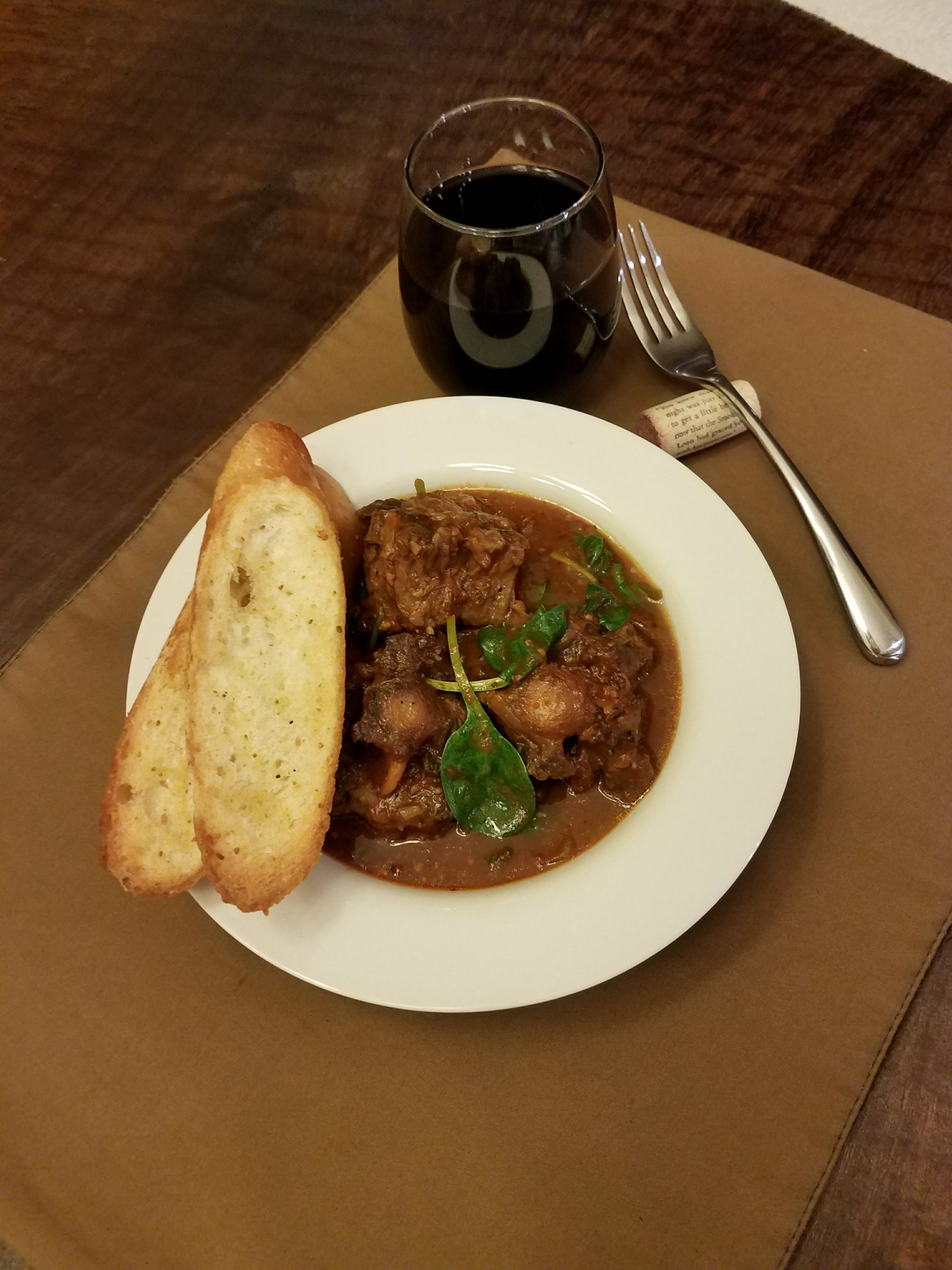 Wine Braised Oxtails – Italian Inspired