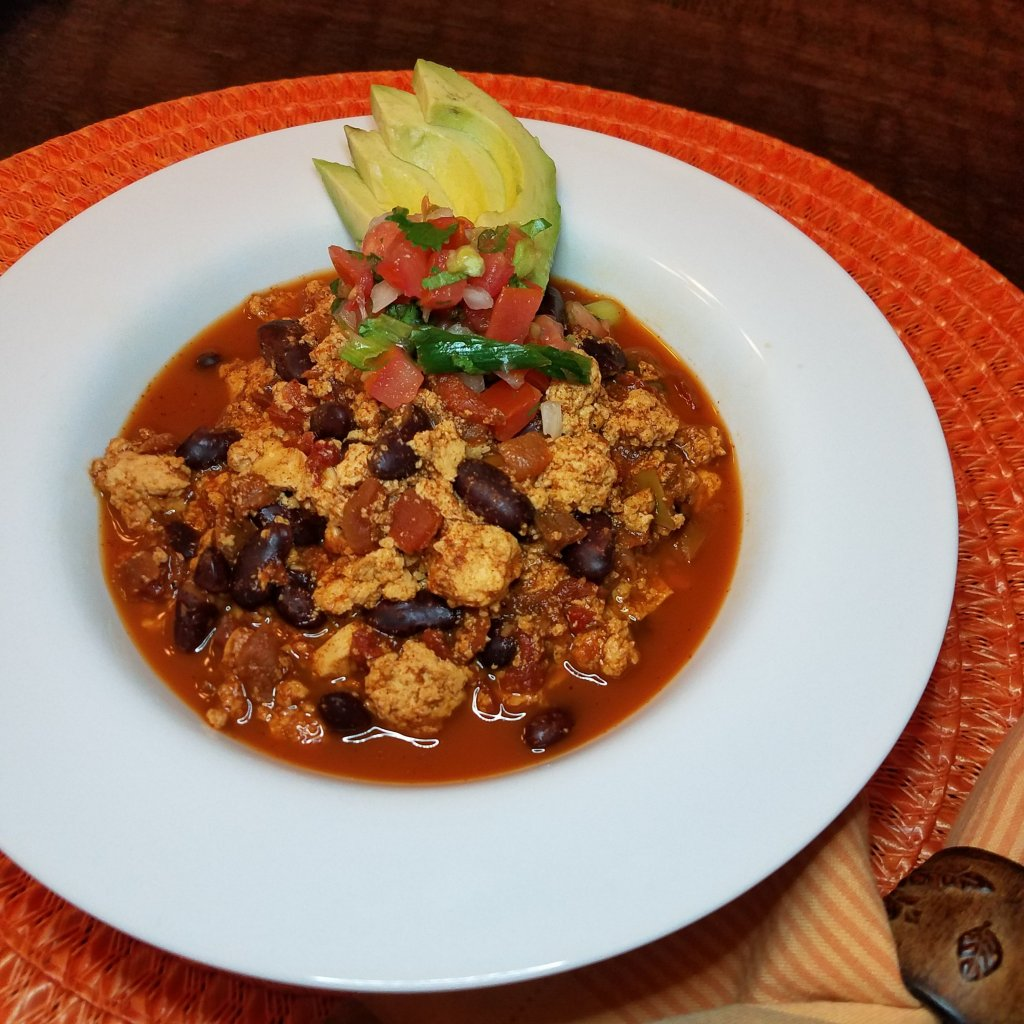 Vegan Tofu Chili