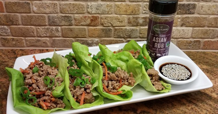 Asian Lettuce Wraps – Perfect for Spring!