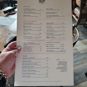 Texas Street Grill menu