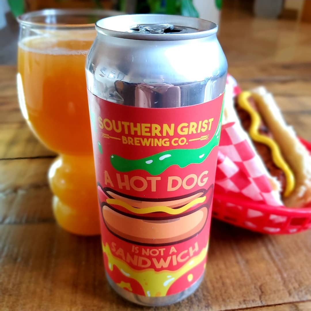SOUTHERN GRIST BREWING (NASHVILLE, TN): A HOT DOG IS NOT A SANDWHICH