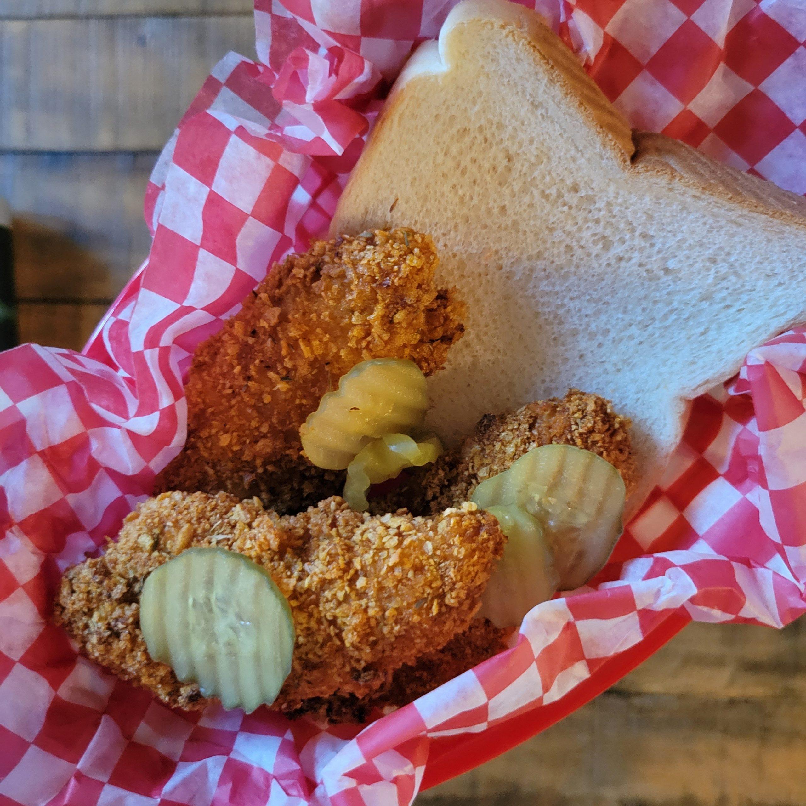 Oven Fried Nashville-inpsired Hot Chicken Tenders