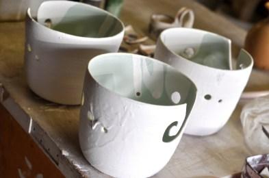 Glazed Yarn Bowls