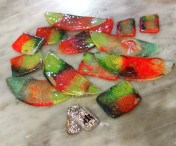 Dawn Whitehand recycled CD pendants