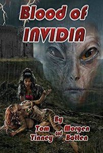 Book Cover: Blood of Invidia by Tom Tinney and Morgen Batten