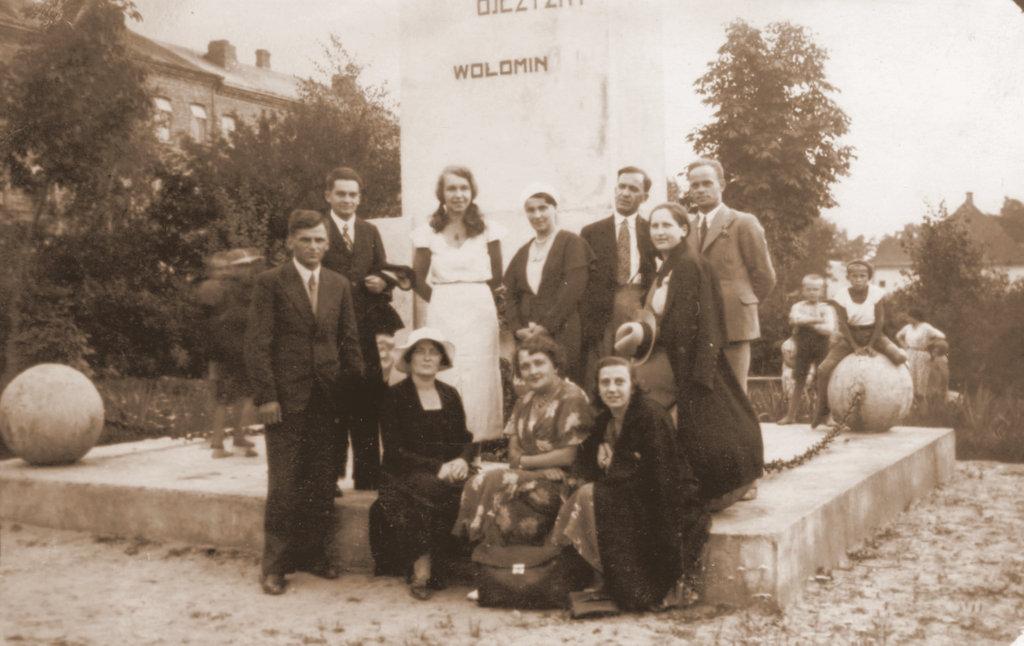 Kronika szkoły nr 2 (żeńskiej) w Wołominie - rok 1933