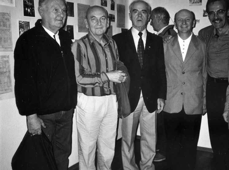 Listopad 2003 roku. Jubileusz 50-lecia koszykówki w Wołominie.