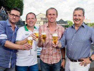 Die Mannen von Keimzeit setzen Glanzpunkte zum StadtfestAbschluss. Foto: PR