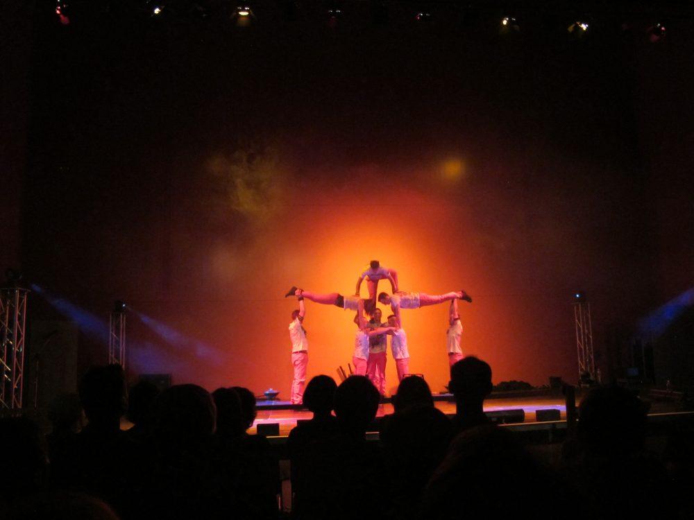 Den krönenden Abschluss im Hygiene-Museum bildeten Magic Artists im Großen Saal. Foto: Una Giesecke