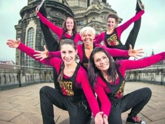 Hip-Hop-Tänzerinnen des DDP-Tanzstudios Foto: Sven Ellger